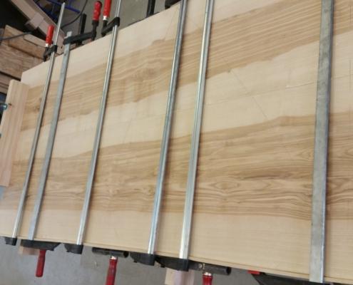 Esstisch Esche 2 Schreinerei Holzhandwerkstatt Schmidt