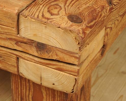 Balkenbett 16 Schreinerei Holzhandwerkstatt Schmidt