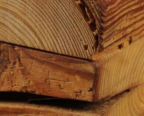 Balkenbett 117 Schreinerei Holzhandwerkstatt Schmidt