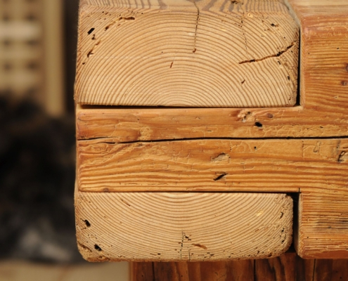 Balkenbett Schreinerei Holzhandwerkstatt Schmidt