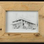 Altholzbilderrahmen 011 Schreinerei Holzhandwerkstatt Schmidt