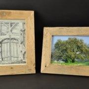 Altholzbilderrahmen 015 Schreinerei Holzhandwerkstatt Schmidt