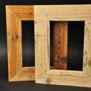 Altholzbilderrahmen020 Schreinerei Holzhandwerkstatt Schmidt